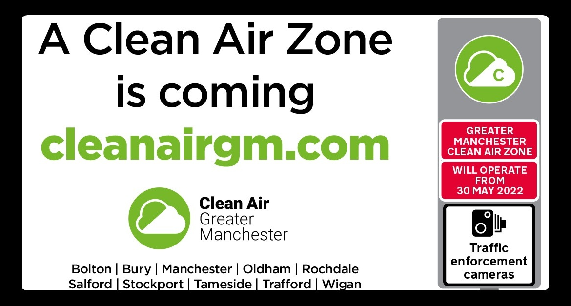 Clean Air Zone Manchester image