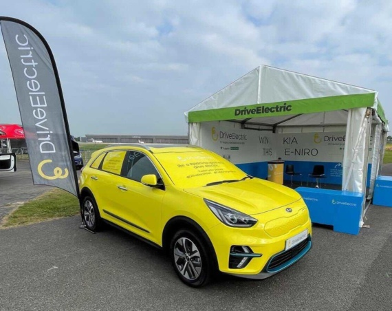 DriveElectric e Niro at FullyCharged Show