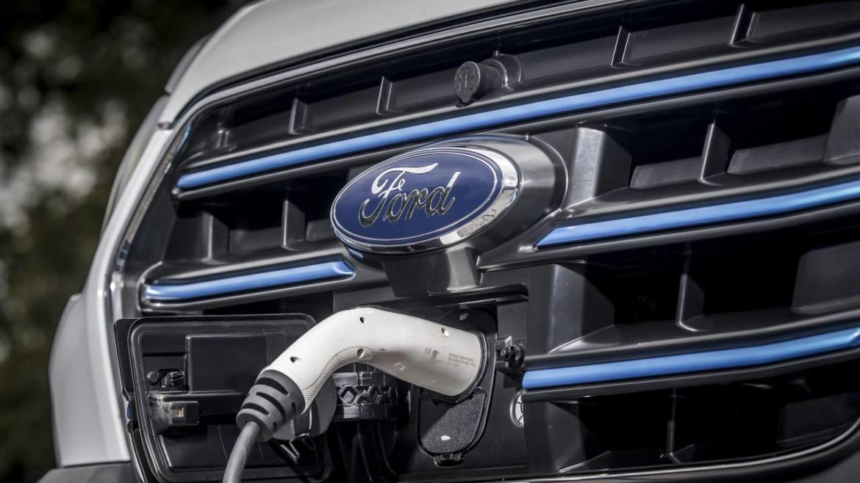Ford E Transit electric van