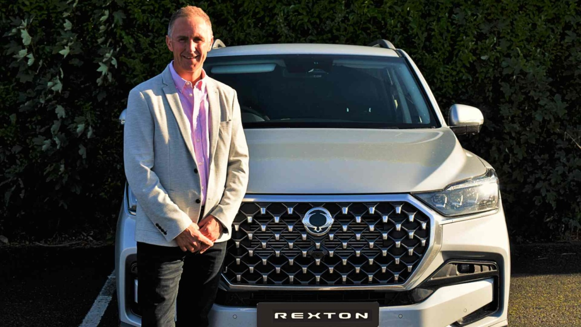 Clive Messenger joins SsangYong